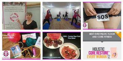 September 12th  Every Woman 6 week Course Thursday 7- 8.15pm