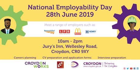 London Jobs Fairs Employability Day Croydon tickets
