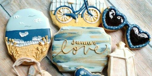 Intermediate Cookie Decorating -Beach Theme
