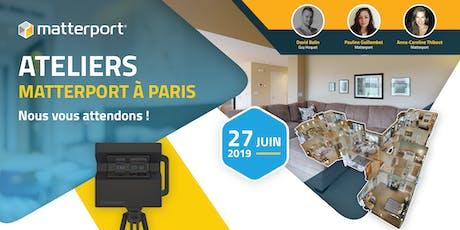 Ateliers Matterport à Paris  billets