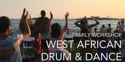 Saturday Family Workshop: African Drumming & Dance