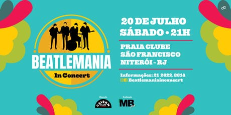BEATLEMANIA IN CONCERT bilhetes