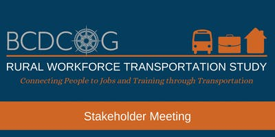 Rural Workforce Transportation Stakeholder Meeting - July 18th