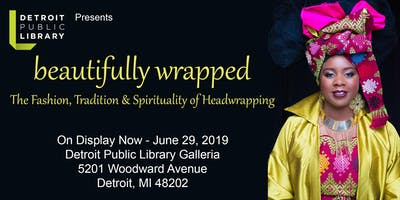 Headwrap Exhibit Celebration