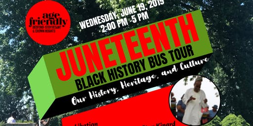 Juneteenth Black History Bus Tour