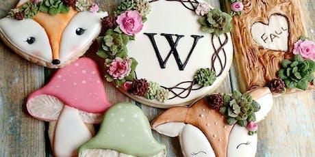 Intermediate Cookie Decorating- Fall Woodland  tickets