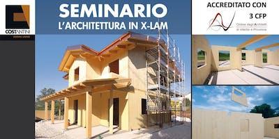 """Seminario: """"L'Architettura in X-LAM"""" - Viterbo"""