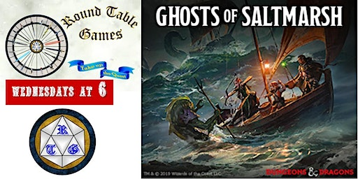 D&D 5th Edition Wednesdays at Round Table Games 2019