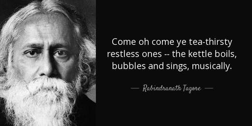 Tea with Tagore