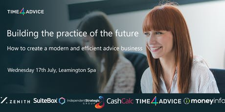 Building the practice of the future - How to create a modern and efficient advice business  tickets