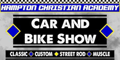 HCA Car and Bike Show tickets
