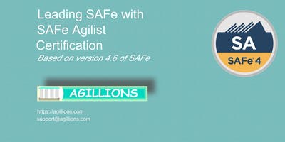 Leading SAFe - SAFe Agilist(SA) 2 day Certification Class July 13- Bridgewater, NJ