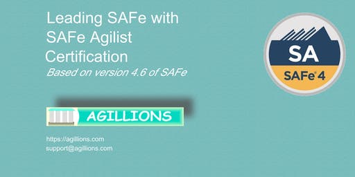 Leading SAFe - SAFe Agilist(SA) 2 day Certification Class July 13- Bridgewater, NJ
