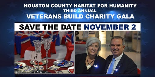 Houston County Habitat Veterans Build Charity Gala