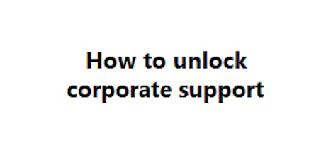 How to unlock corporate support tickets