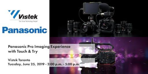 Panasonic Pro Imaging Experience w/ Touch & Try - Vistek Toronto