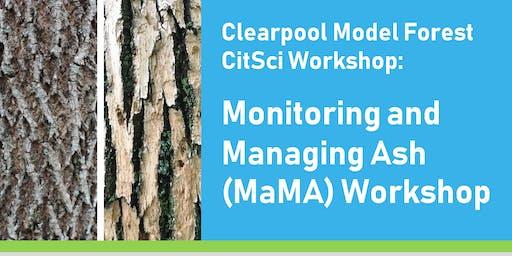 Monitoring and Managing Ash (MaMA) Workshop