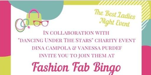 Ladies Night Fashion Fab Bingo