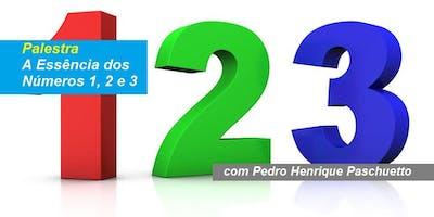 Pedro Henrique Paschueto - Palestra A Essência dos Números 1, 2 e 3