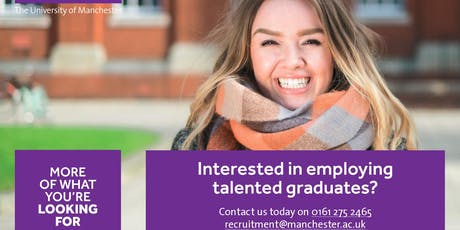 Graduate Recruitment Drop-In (University of Manchester) tickets