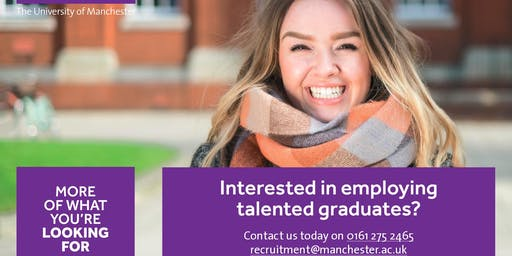 Graduate Recruitment Drop-In (University of Manchester)