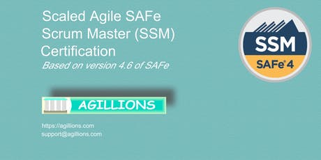 SAFe Scrum Master(SSM) 2 day Certification Class July 20 - Bridgewater, NJ tickets