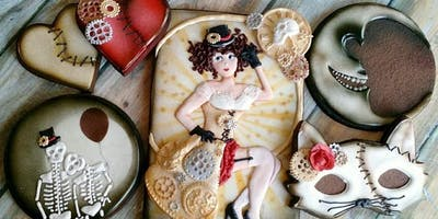 Advanced Cookie Decorating Workshop- Gothic Circus