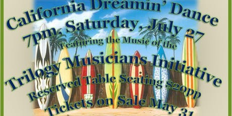 California Dreamin' Summer Dance tickets