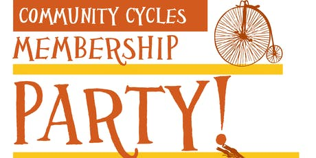 Community Cycles Membership Party tickets