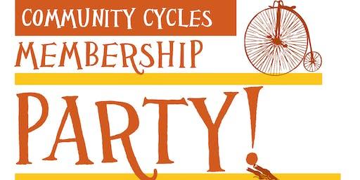 Community Cycles Membership Party