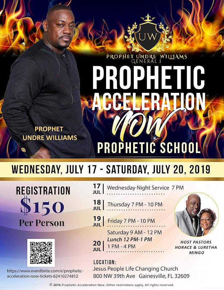 Prophetic Acceleration NOW image
