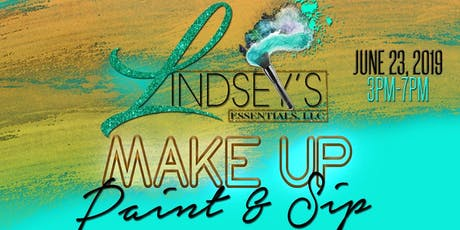 Paint & Sip Make-up Class tickets