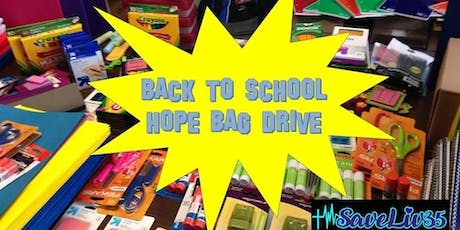 SLF Back To School Hope Bags tickets