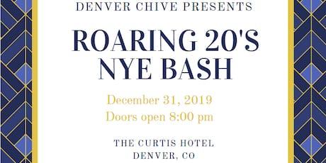 Denver Chive: Roaring 20's NYE Bash tickets
