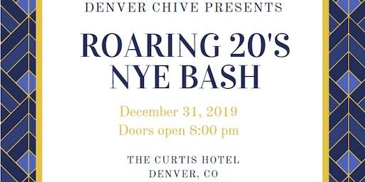 Denver Chive: Roaring 20's NYE Bash