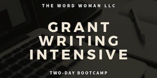 GRANT WRITING INTENSIVE (Baltimore Boot Camp)