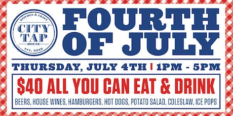 4th of July All American Cook Out tickets