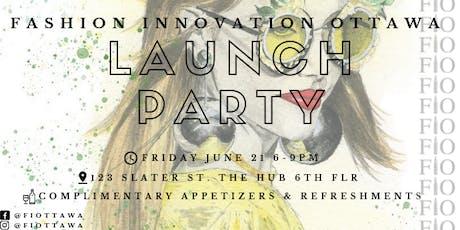 Fashion Innovation Ottawa Launch Party billets