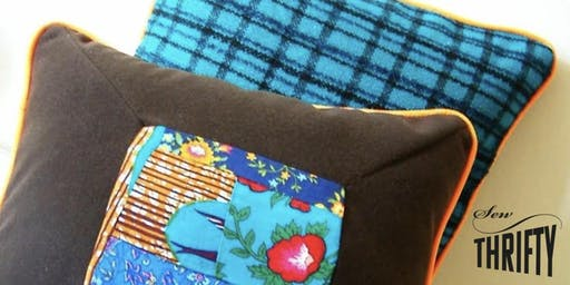 Sew Thrifty: Cushion Cover Workshop