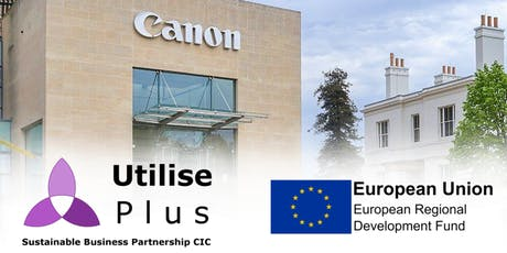 Sustainability Tour of Canon HQ, Reigate tickets