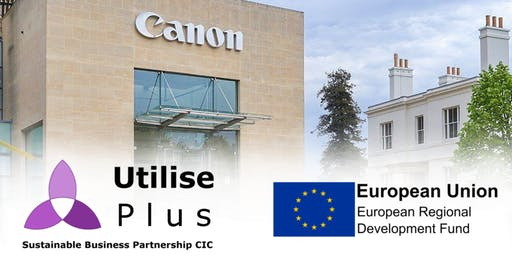 Sustainability Tour of Canon HQ, Reigate