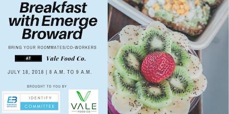 Breakfast with Emerge Broward tickets