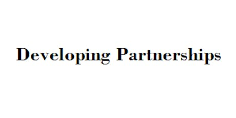 Developing Partnerships tickets