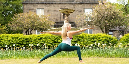 Yoga in the Park with Briony Aston