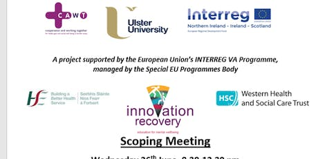 Innovation Recovery for Mental Health Education: Scoping Meeting tickets