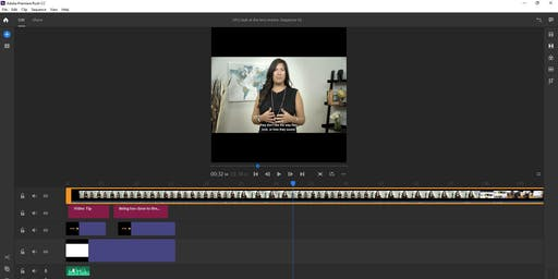 Simple Video Editing with Adobe Rush for PC Users