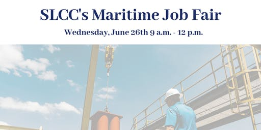 SLCC's Maritime Job Fair - Exhibitor Registration