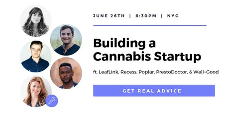 Building a Cannabis Startup tickets