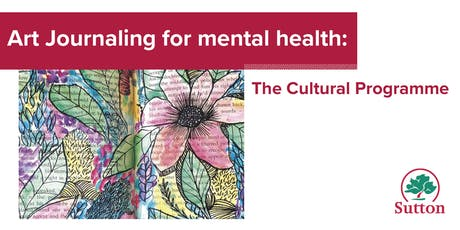 Art Journaling for Positive Mental Health - Wallington Library tickets