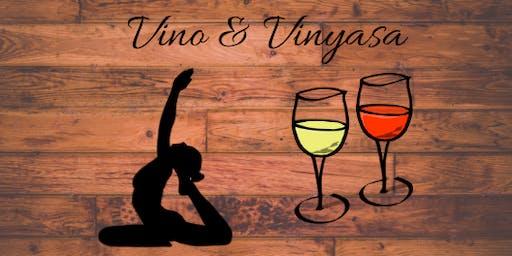 VINO & VINYASA June 22